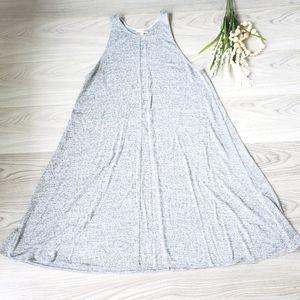 ARITZIA Rosa dress grey jersey knit A-line
